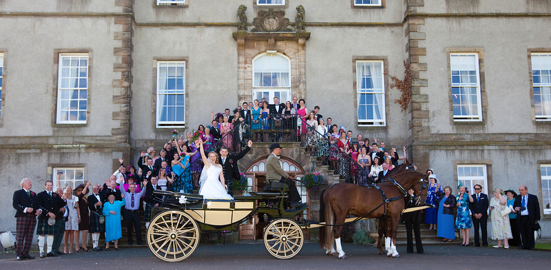 Dalmahoy Wedding Horse & Carriage