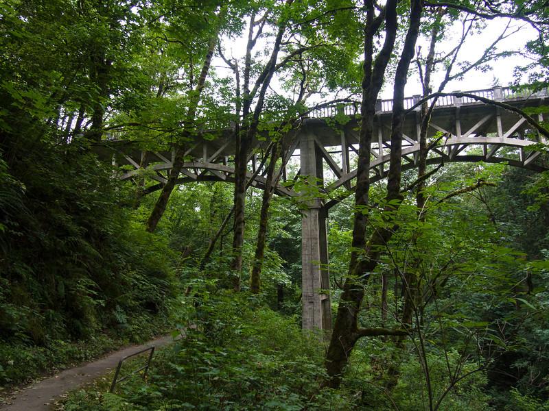 Bridge near Latourell Falls (the historic Columbia River Highway)