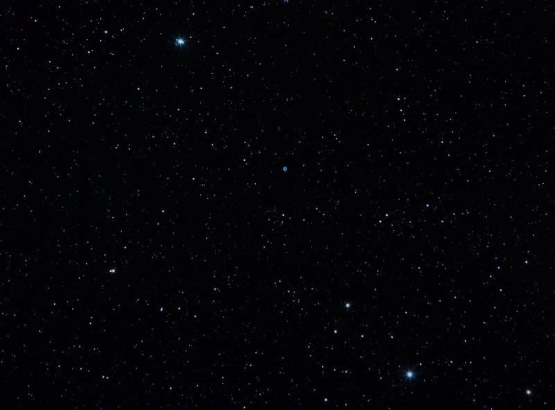 M57 Ring Nebula and half of Lyra
