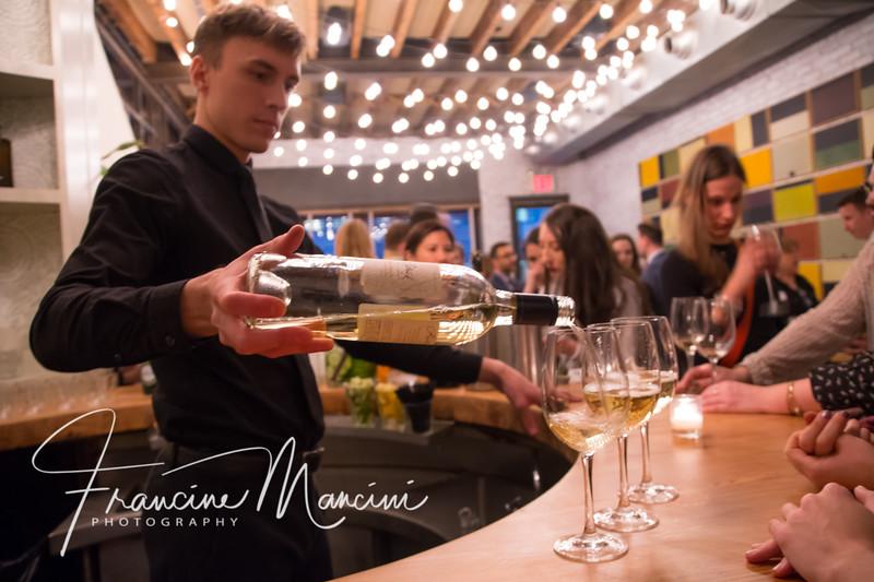 Landmarc restaurant events.