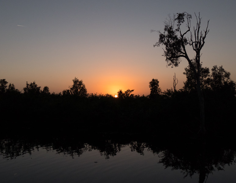 lox canal sunset