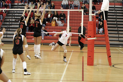 Girls Varsity Volleyball - 2006-2007 - 2/24/2007 Conference Spring Lake