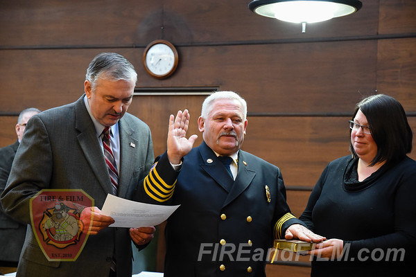 Pottsville hires new Fire Chief 02/12/2018