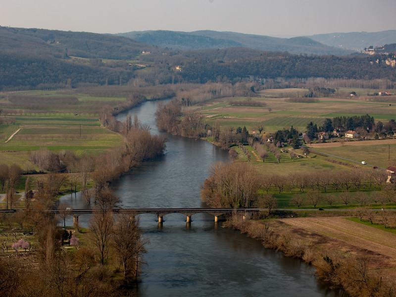 La Dordogne from Domme 2016