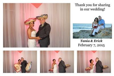 Tania & Erick's Wedding PhotoBooth