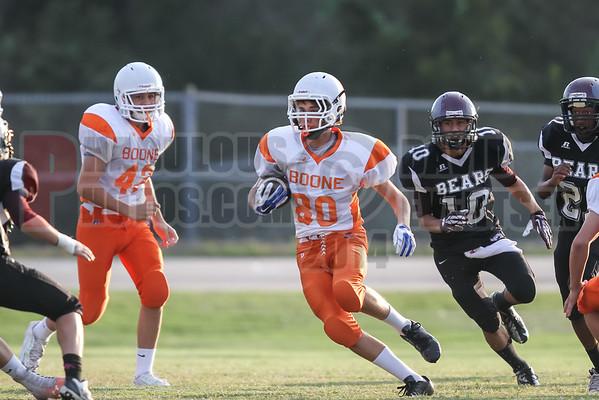 Boone Braves @ Cypress Creek Bears Freshman Football - 2014