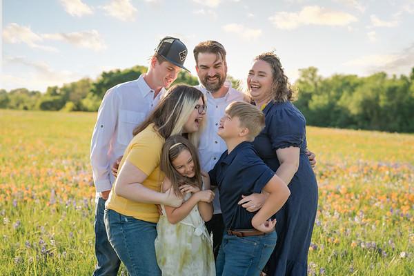 Cotton Family Bluebonnets