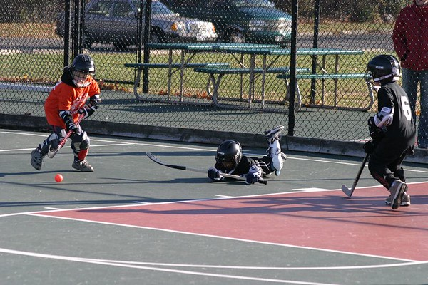 2004 Devil's Dek Hockey vs Orange