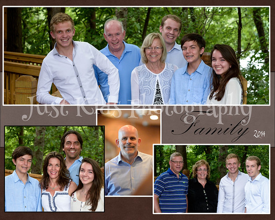 Peterson Family 2014