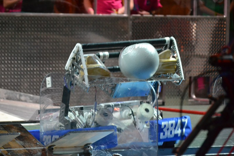 2016 FIRST Bayou Regional Robotics - Spectrum 3847 - 705