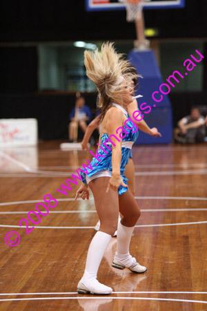 Spirit Vs Perth 11-10-08 Pre-Game, Cheerleaders, 1/2 Time Entertainment& Spectators.