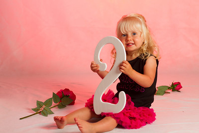 Mackenna Second Birthday Portrait