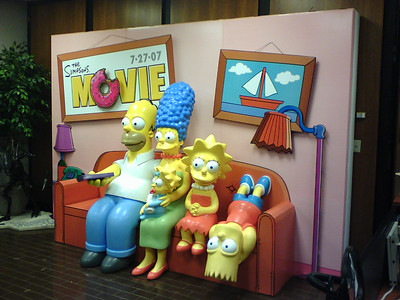What we did at work today, The Simpsons!