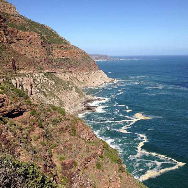 Today's #nofilter special, atop Chapman's Peak Drive, Cape Town #MeetSouthAfrica