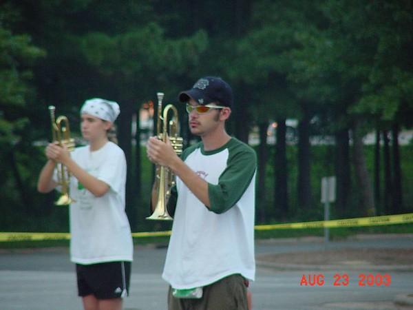 2003-08-23: Lazy Daze Practice