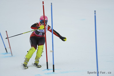 Slalom, Ladies CAN - QC - SKI BROMONT Fev 17 2013""