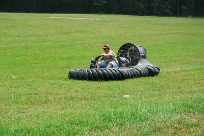 Hovercraft Testing - 6/27/2009
