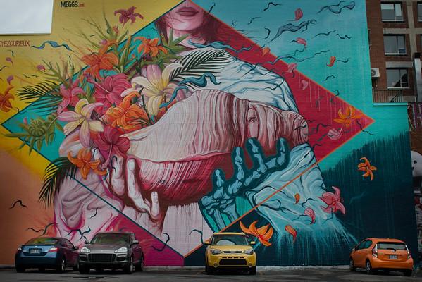 Street art of Montreal