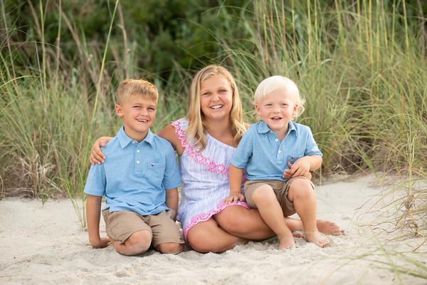Hunt Family - Beach