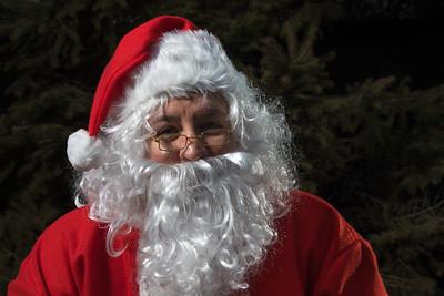 Santa Visits Totoredaca 2015