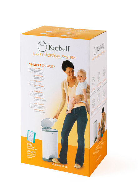 Korbell_Nappy_Bin_Packaging_Shot_Standard_16L_Single_Refill_Front_Angle.jpg