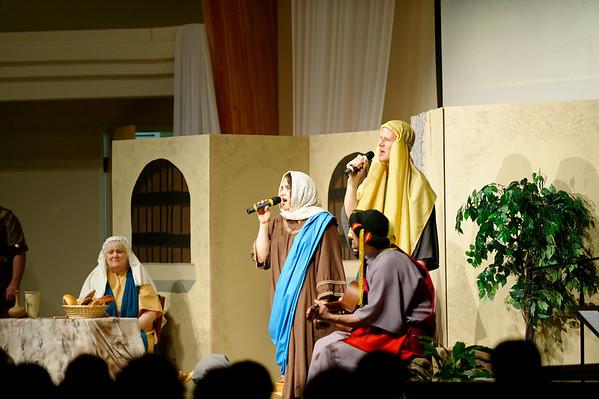 Easter Program at Monroe Church