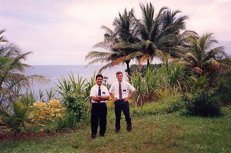 Elders Salleh and Craig out in Port Antonio