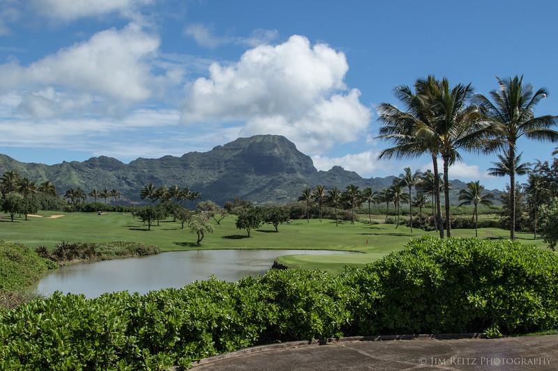 Poipu Bay golf course.
