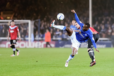 Peterborough United 3 - 1 Huddersfield Town 23.10.12 NO FOOTBALL IMAGES FOR SALE OR REPRODUCTION