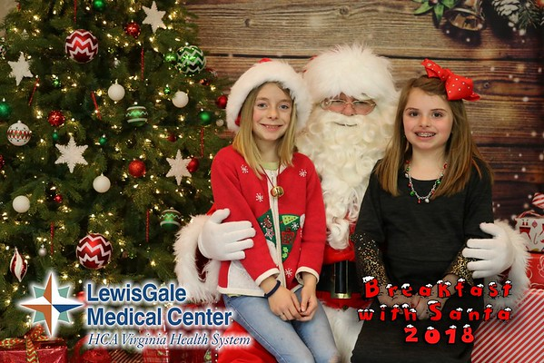 LewisGale Breakfast with Santa 2018