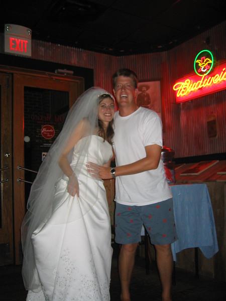 Wedding Day for Tyler & Margaret Jane - Saturday July 24th, 2004