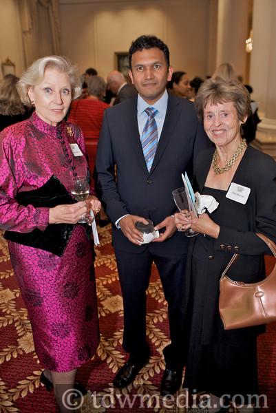 Signid Kallick, Ramki Ananphanakrishnan and Ellen Werner