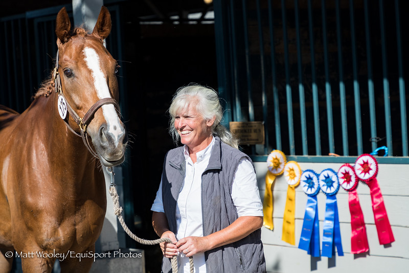 Winston & Wendy in the KDA Dressage Show at the Kentucky Horse Park 7.08.18.