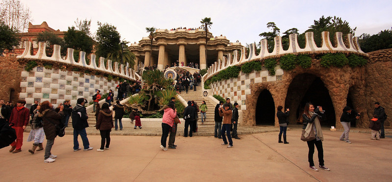 Park Guell and La Pedrera