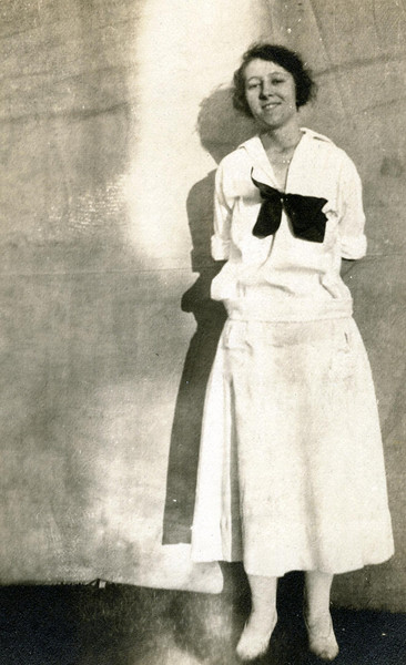 Gladys Mary Foote- oldest of William & Jennie's 3 children.