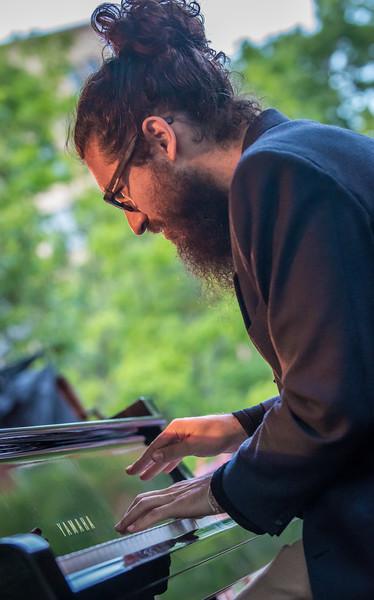 Francisco Mela's Crash Trio-Mears Park, St. Paul.