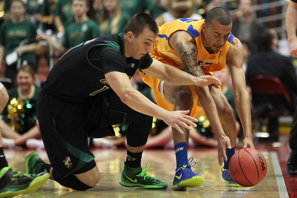 Cal Poly vs. UCSB 2014 Big  West Tournament