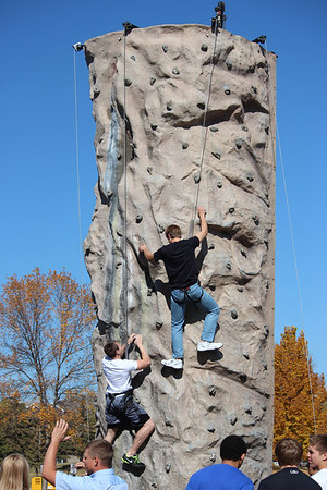 National Guard Rock Wall