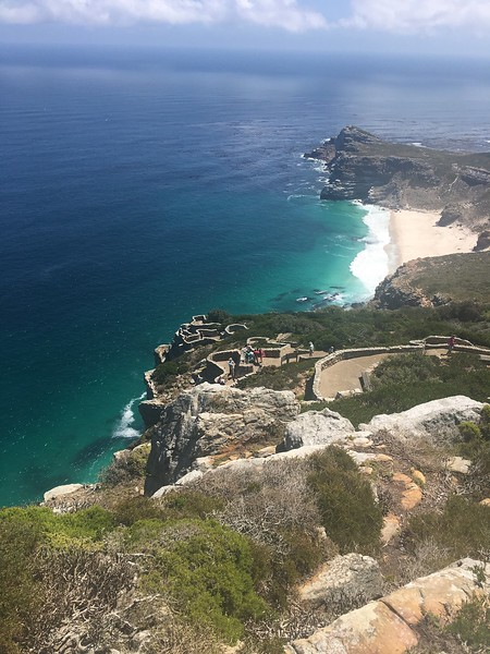 View from the lighthouse at the Cape of Good Hope - Rob Williamson