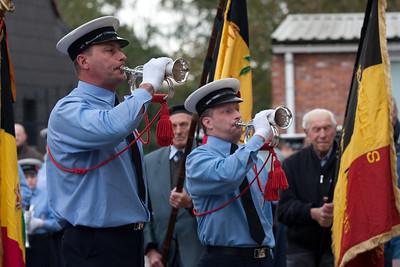 Bevrijdingsherdenking 2009 - Aan het monument