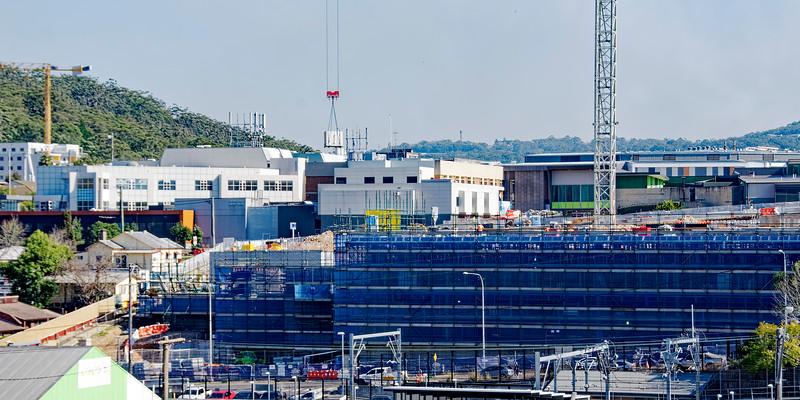 Gosford Hospital building progress  August 3, 2018.  (h21ed)