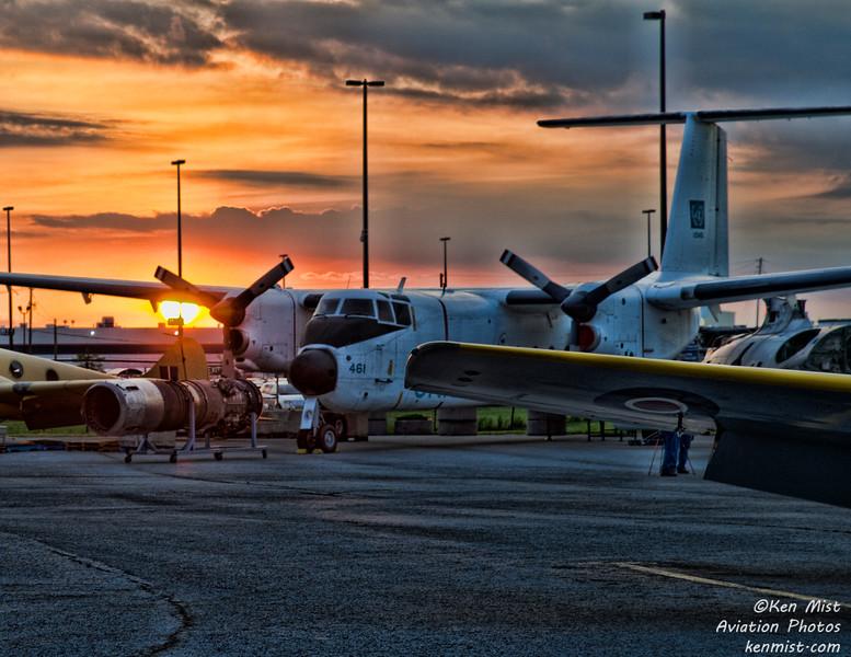 Buffalo at Canadian Warplane Heritage Museum 2015 SkyFest.