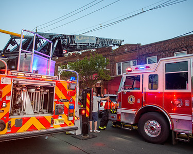 Palisades Park, NJ Working Fire - 8 E Columbia Ave - 7/4/21