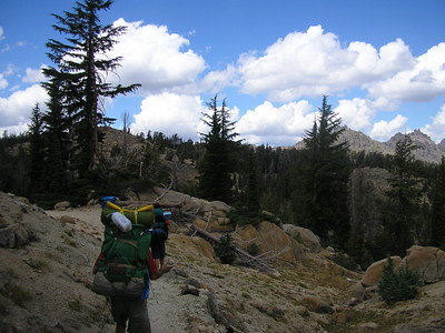 Ebbetts Pass Backpacking