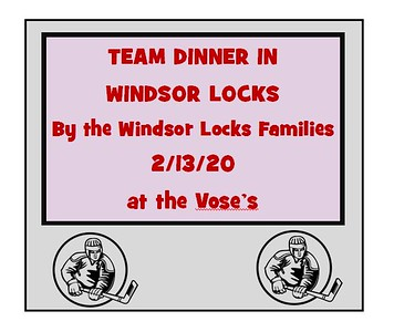 2020_02_13 Wildcats Team Dinner in Windsor Locks