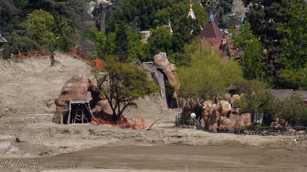 Disneyland Resort, Disneyland, Frontierland, Critter, Country, Star, Wars, Land, Construction, River, Rivers, America, Mickey, Friends, Parking, Structure