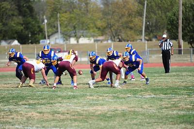 IHS football vs. Girard (10-17-20)