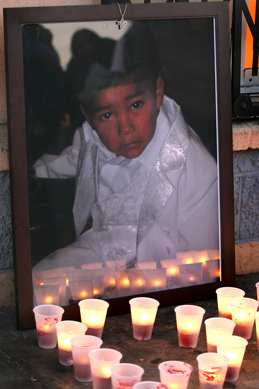 . Carlos Nava, 3, killed on Aug. 8, 2011. 6400 block of International Boulevard. His mother was pushing him in a stroller on a two-block walk home from a convenience store when police say two men driving by opened fire, a stray bullet hitting Carlos in the neck. The intended target was a drug dealer. The killing was captured on video, and briefly posted online until police removed from the Internet and seized as evidence. It ends with footage of Carlos lying on the sidewalk, bleeding to death as his parents cradled him.