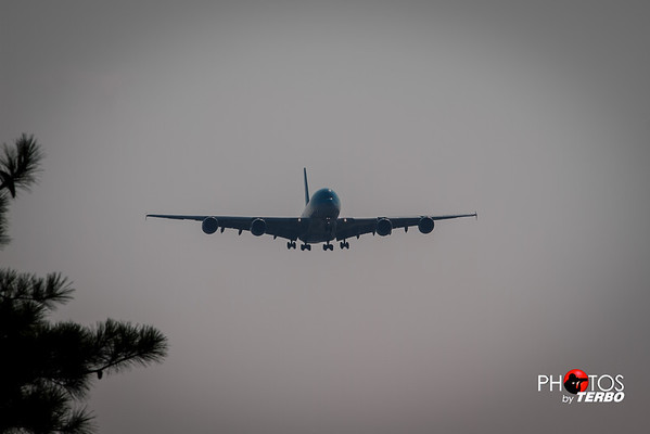 A380 Comes to Atlanta