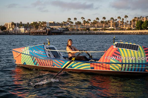 Lia Ditton Adventure Rower